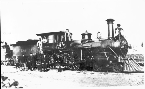 Baltimore & Ohio no. 0649 [4-4-0]