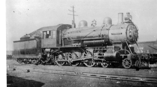 Baltimore & Ohio no. 2020 [4-6-0]