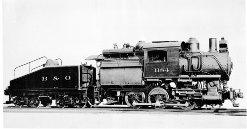 Baltimore & Ohio no. 1184 [0-6-0]