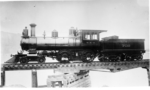 Baltimore & Ohio no. 0702 [4-4-0]
