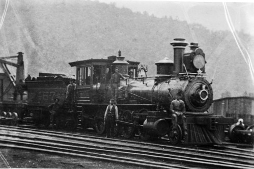 Baltimore & Ohio no. 0467 [2-8-0]