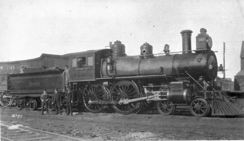 Baltimore & Ohio no. 0849 [4-4-0]
