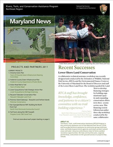RTCA 2011 Maryland News