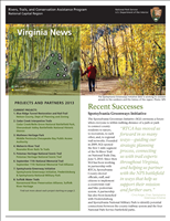RTCA 2013 Virginia News. This brochure provides information about the current projects and recent successes.