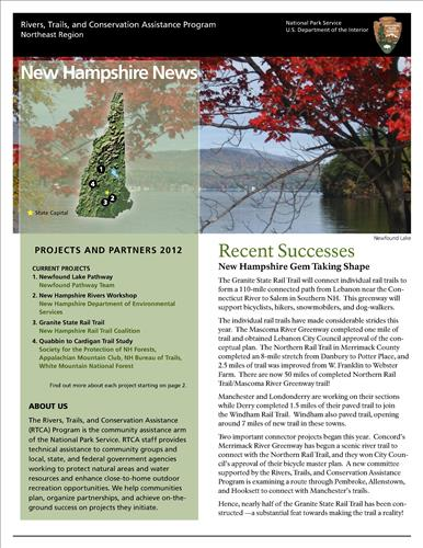 RTCA 2012 New Hampshire News