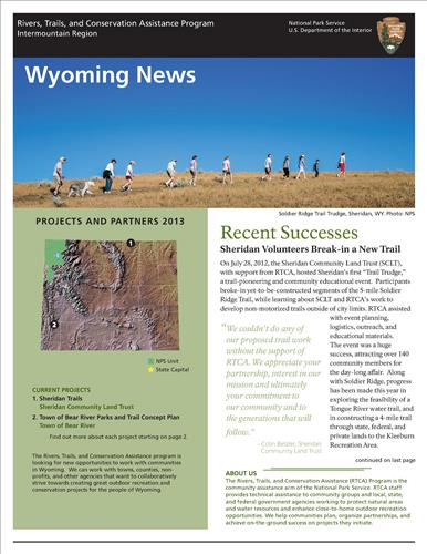RTCA 2013 Wyoming News