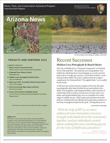 RTCA 2012 Arizona News