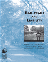Rail-Trails and Liability. This report is on the liability issues and risk management techniques as they relate to trails. The report includes statistical and survey data collected by Rails-to-Trails Conservancy.