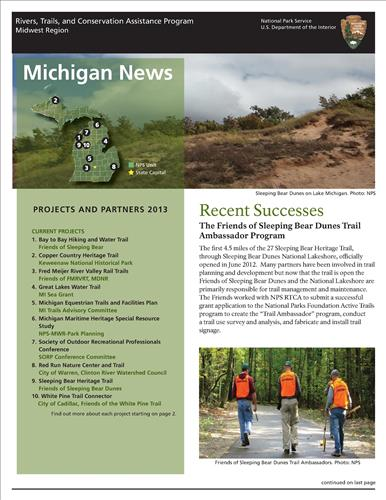 RTCA 2013 Michigan News