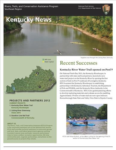 RTCA 2012 Kentucky News