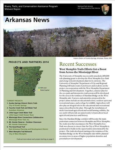 RTCA 2014 Arkansas News