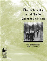 Rail-Trails and Safe Communities. This report is a collection of crime reported by trail managers, as well as safety features, trail patrols, and other safety attributes. The report includes statistical data for 372 trails.