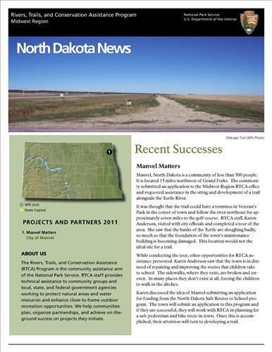RTCA 2011 North Dakota News