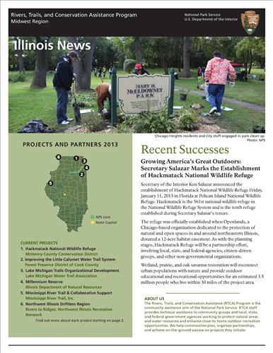 RTCA 2013 Illinois News