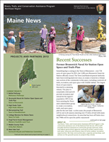 RTCA 2013 Maine News. This brochure provides information about the current projects and recent successes.