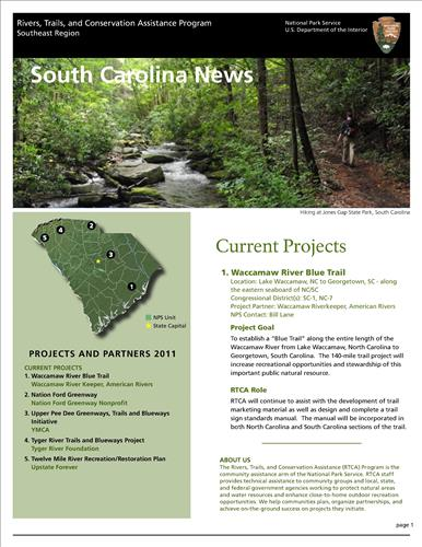 RTCA 2011 South Carolina News