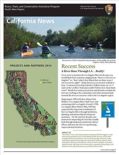 RTCA 2013 California News