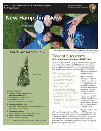 RTCA 2013 New Hampshire News