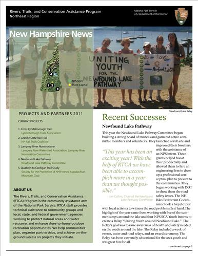 RTCA 2011 New Hampshire News
