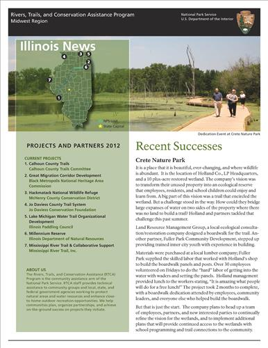 RTCA 2012 Illinois News