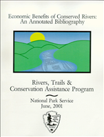 Economic Benefits of Conserved Rivers: An Annotated Bibliography. An effort to document, enhance, and share knowledge of the economic benefits of conserved rivers. It offers an extensive list of studies, papers, and articles on this subject, with summaries of their content.