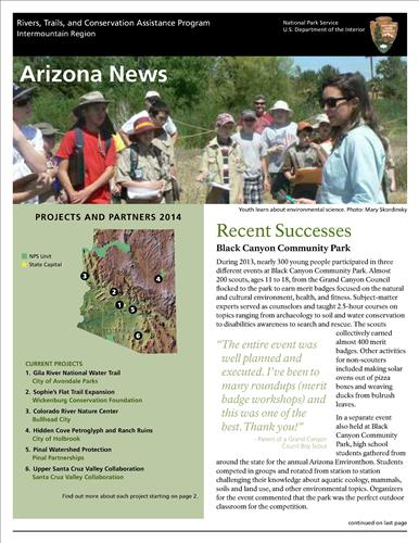 RTCA 2014 Arizona News