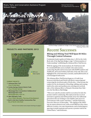 RTCA 2013 Arkansas News