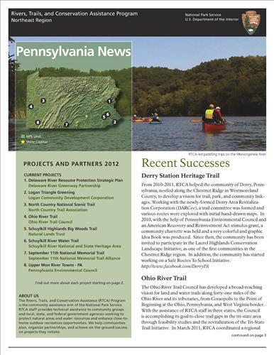 RTCA 2012 Pennsylvania News