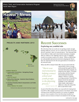 RTCA 2013 Hawai'i News. This brochure provides information about the current projects and recent successes.