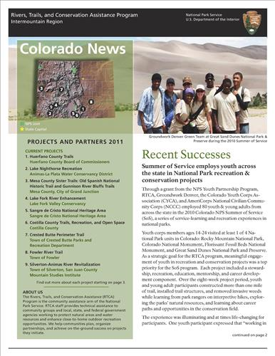 RTCA 2011 Colorado News