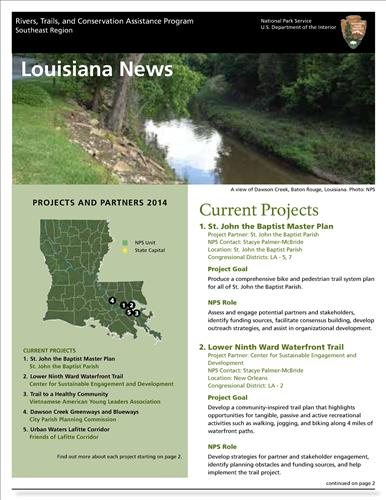 RTCA 2014 Louisiana News