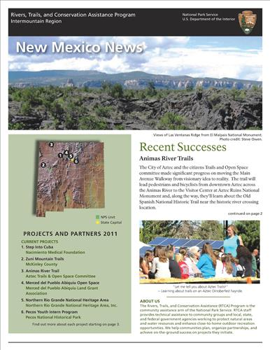 RTCA 2011 New Mexico News