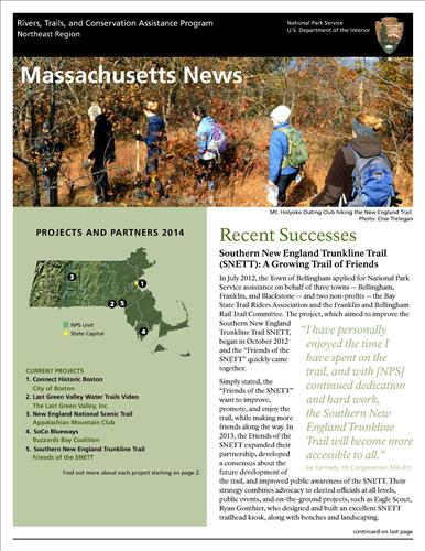 RTCA 2014 Massachusetts News