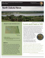 RTCA 2013 North Dakota News. This brochure provides information about the current projects and recent successes.