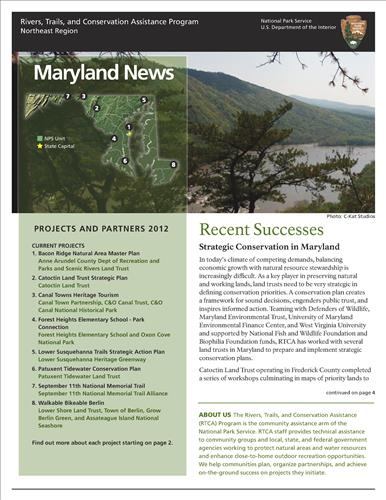 RTCA 2012 Maryland News
