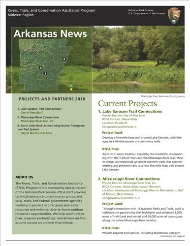 RTCA 2010 Arkansas News