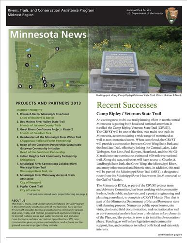 RTCA 2013 Minnesota News