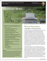 RTCA 2013 Minnesota News. This brochure provides information about the current projects and recent successes.