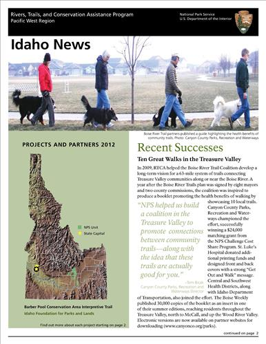 RTCA 2012 Idaho News