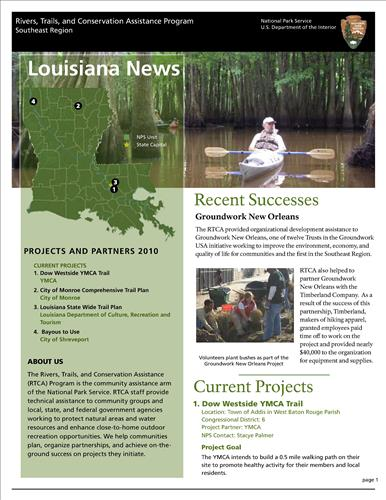 RTCA 2010 Louisiana News