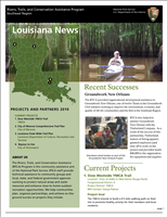 RTCA 2010 Louisiana News. This brochure provides information about the current projects and recent successes.