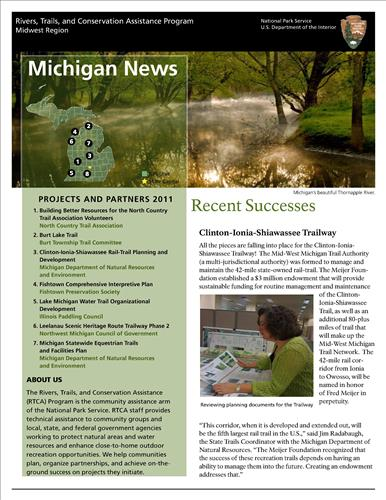 RTCA 2011 Michigan News