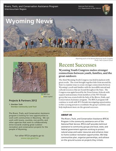RTCA 2012 Wyoming News