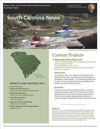RTCA 2012 South Carolina News