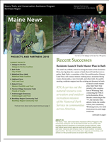 RTCA 2010 Maine News. This brochure provides information about the current projects and recent successes.