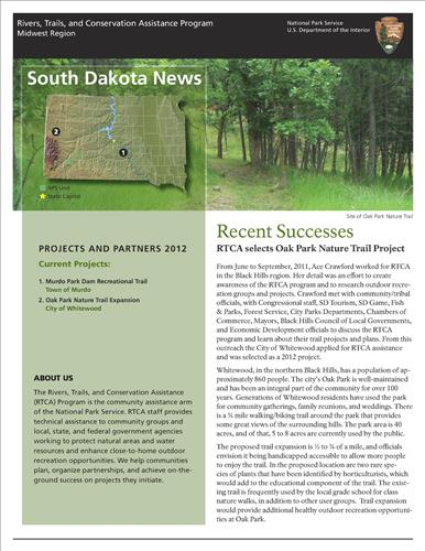 RTCA 2012 South Dakota News