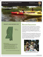RTCA 2013 Mississippi News. This brochure provides information about the current projects and recent successes.