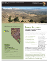 RTCA 2013 Nevada News. This brochure provides information about the current projects and recent successes.