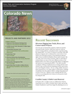 RTCA 2012 Colorado News. This brochure provides information about the current projects and recent successes.