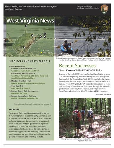 RTCA 2012 West Virginia News